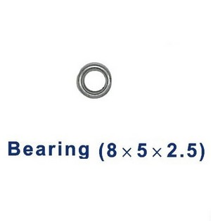 Double Horse 9050 DH 9050 RC helicopter spare parts bearing (big 8*5*2.5mm)