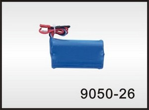 Double Horse 9050 DH 9050 RC helicopter spare parts battery 7.4V 1300mAh red JST plug