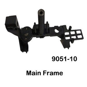 Double Horse 9051 9051A 9051B DH 9051 RC helicopter spare parts main frame