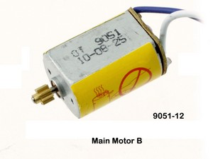 Double Horse 9051 9051A 9051B DH 9051 RC helicopter spare parts main motor with short shaft