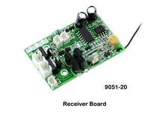 Shuang Ma 9051 9051A 9051B SM 9051 RC helicopter spare parts PCB BOARD (Frequency: 27Mhz)
