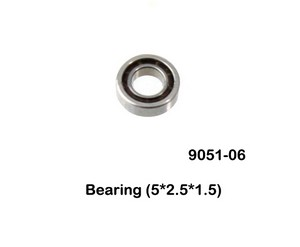 Double Horse 9051 9051A 9051B DH 9051 RC helicopter spare parts small bearing