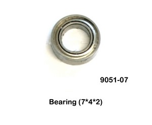 Double Horse 9051 9051A 9051B DH 9051 RC helicopter spare parts big bearing