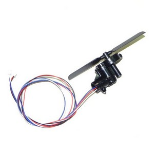 Shuang Ma 9053 SM 9053 RC helicopter spare parts tail blade + tail motor + tail motor deck + tail LED light (set)