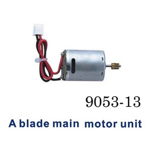 Shuang Ma 9053 SM 9053 RC helicopter spare parts main motor A (Red-Black wire)