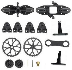 Double Horse 9097 DH 9097 RC helicopter spare parts accessories kit
