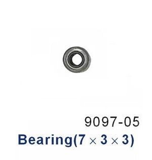 Double Horse 9097 DH 9097 RC helicopter spare parts bearing (7*3*3)