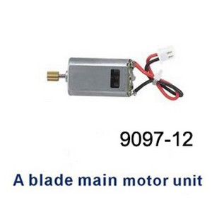 Double Horse 9097 DH 9097 RC helicopter spare parts main motor (Red-Black wire)