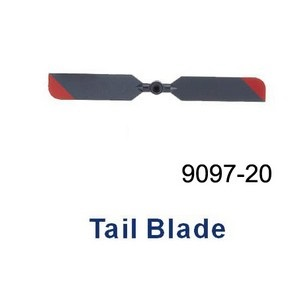 Double Horse 9097 DH 9097 RC helicopter spare parts tail blade