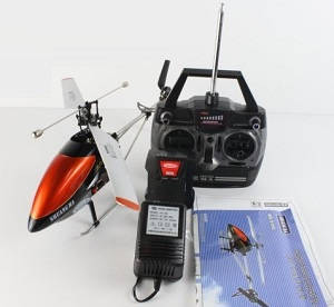 XJL006 Double Horse 9100 UJ368 3.5CH single blade big RC helicopter