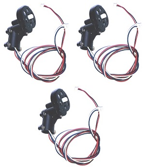 Double Horse 9101 DH 9101 RC helicopter spare parts tail motor + tail motor deck + tail LED light (3 set)