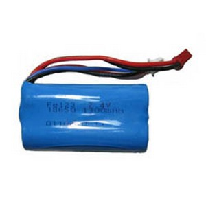Shuang Ma 9101 SM 9101 RC helicopter spare parts battery 7.4V 1300mah red JST plug
