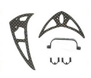 Double Horse 9101 DH 9101 RC helicopter spare parts tail decorative set