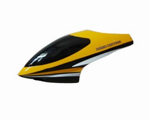 Shuang Ma 9101 SM 9101 RC helicopter spare parts head cover (Yellow)