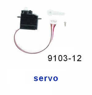 Double Horse 9103 DH 9103 RC helicopter spare parts SERVO