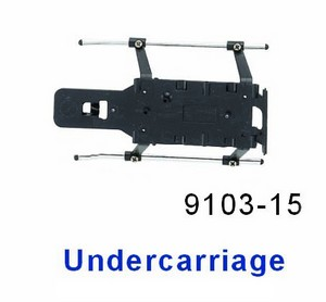 Double Horse 9103 DH 9103 RC helicopter spare parts undercarriage