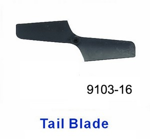 Double Horse 9103 DH 9103 RC helicopter spare parts tail blade