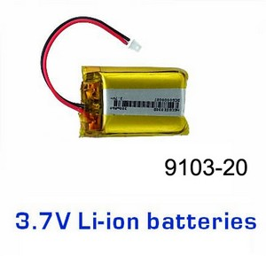 Double Horse 9103 DH 9103 RC helicopter spare parts battery