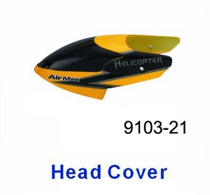 Double Horse 9103 DH 9103 RC helicopter spare parts head cover (Yellow)