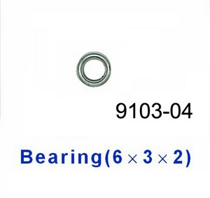Double Horse 9103 DH 9103 RC helicopter spare parts bearing