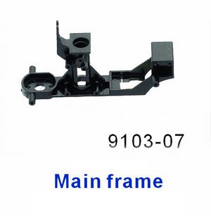 Double Horse 9103 DH 9103 RC helicopter spare parts main frame
