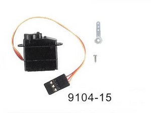 Double Horse 9104 DH 9104 RC helicopter spare parts servo