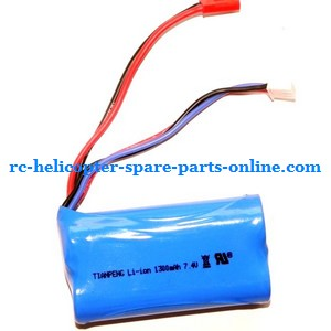 Double Horse 9117 DH 9117 RC helicopter spare parts battery (7.4V 1500mAh red JST plug)