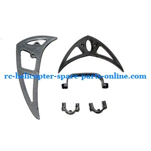 Double Horse 9117 DH 9117 RC helicopter spare parts tail decorative set