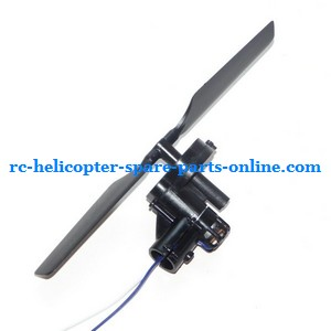 Double Horse 9117 DH 9117 RC helicopter spare parts tail blade + tail motor + tail motor deck (set)