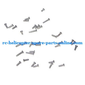 Shuang Ma 9120 SM 9120 RC helicopter spare parts screws set