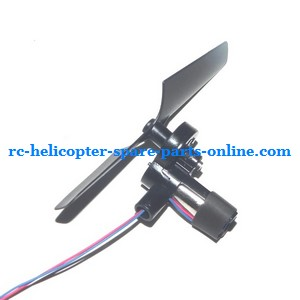 Shuang Ma 9120 SM 9120 RC helicopter spare parts tail blade + tail motor + tail motor deck (set)