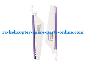 Great Wall 9958 Xieda 9958 GW 9958 RC helicopter spare parts main blades (Purple)