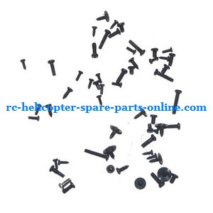 Lucky Boy 9961 RC helicopter spare parts screws set