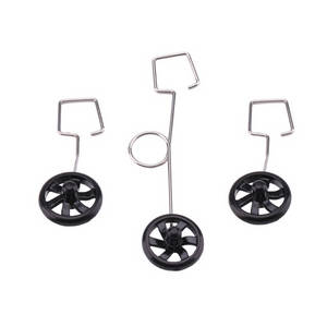 Wltoys XK A100 RC Airplanes Helicopter spare parts landing gears