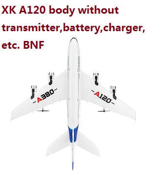 Wltoys XK A120 body without transmitter,battery,charger,etc. BNF