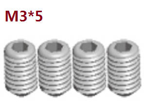 Wltoys A262 RC Car spare parts A292-86 set screws M3*5