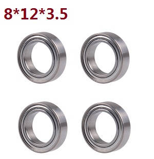 Wltoys A262 RC Car spare parts A202-24 bearing 8*12*3.5