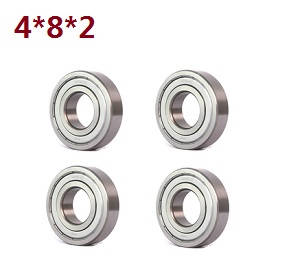 Wltoys A262 RC Car spare parts A202-23 bearing 4*8*2