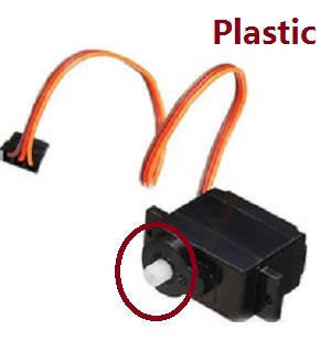 Wltoys A262 RC Car spare parts K989-58 5G digital SERVO (plastic)
