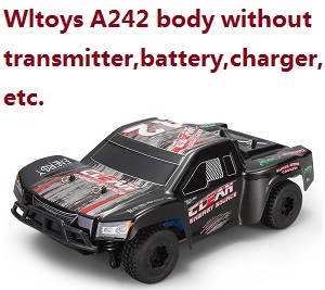 Wltoys A242 RC Car body without transmitter,battery,charger,etc.