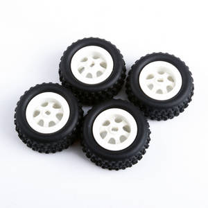 Wltoys A252 RC Car spare parts tyre assembly 4pcs