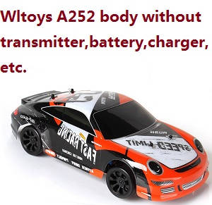 Wltoys A252 RC Car body without transmitter,battery,charger,etc.