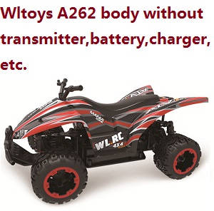 Wltoys A262 RC Car body without transmitter,battery,charger,etc.