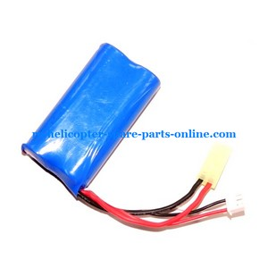 FXD a68688 helicopter spare parts battery 7.4V 1500Mah yellow 2P plug