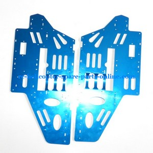 Flame Strike FXD A68690 helicopter spare parts metal frame blue