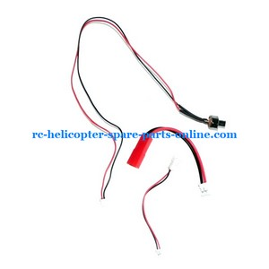 Flame Strike FXD A68690 helicopter spare parts wires 3 pcs
