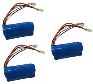 Flame Strike FXD A68690 helicopter spare parts battery 11.1V 1500MAH 3pcs