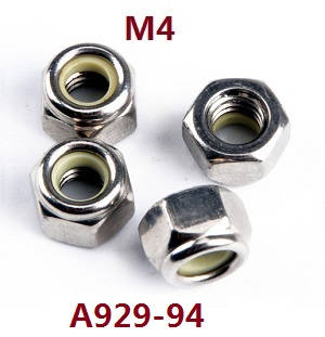 Wltoys A929 RC Car spare parts M4 nuts A929-94