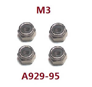Wltoys A929 RC Car spare parts M3 nuts A929-95