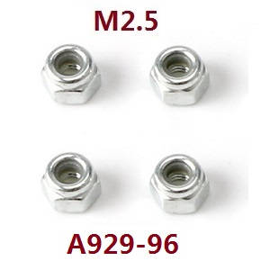 Wltoys A929 RC Car spare parts M2.5 nuts A929-96